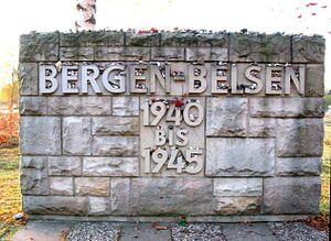 Bergen-Belsen concentration camp - Image: Bergen belsen
