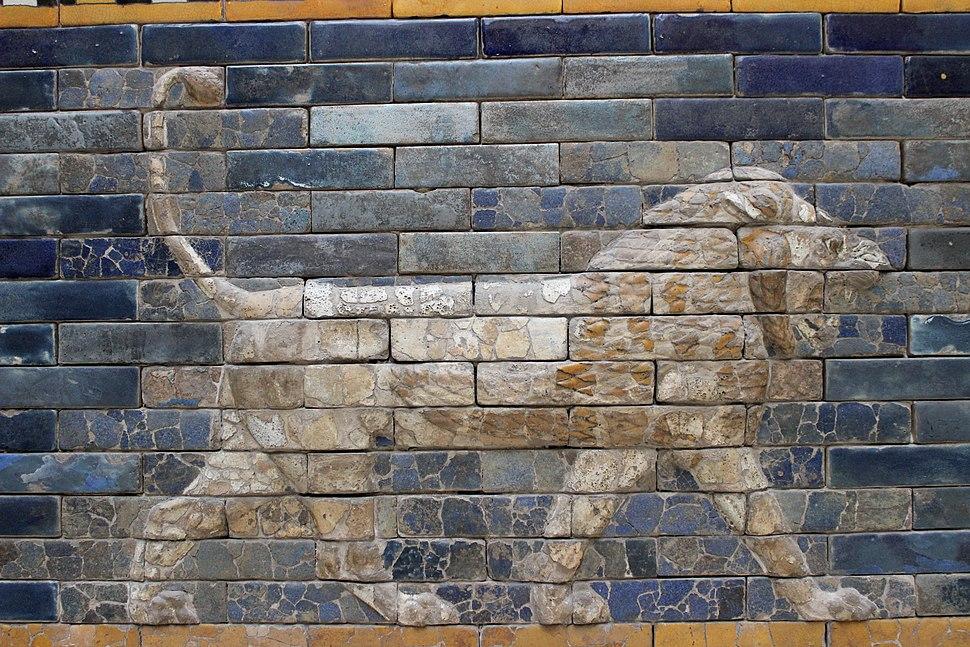 Berlín Ishtar león. 02