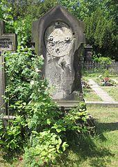 Das Grab von Wilhelm Taubert (Quelle: Wikimedia)