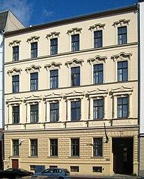 Berlin, Mitte, Neue Jakobstraße, Nigerianische Botschaft 01.jpg