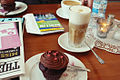 Berlin - Coffee and vegan cupcake (5017443402).jpg