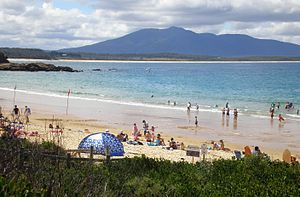 Bermagui, New South Wales - Bermagui Beach and Mount Dromedary