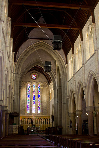 Cathedral of the Most Holy Trinity, Bermuda - Image: Bermuda Cathedral, Interior