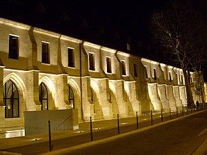 Collège des Bernardins - Collège des Bernardins after renovation - night shot