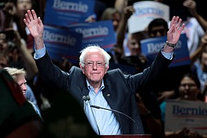 Bernie Sanders presidential campaign, 2016 - Sanders at a town meeting in Phoenix, Arizona, July 2015