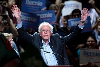 Left-wing populism - Bernie Sanders, 2016 presidential candidate