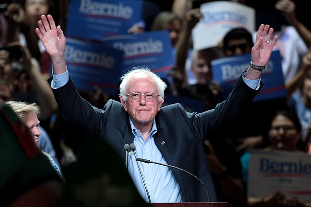 Bernie Sanders Gage Skidmore [CC BY-SA 3.0 (http://creativecommons.org/licenses/by-sa/3.0)], via Wikimedia Commons