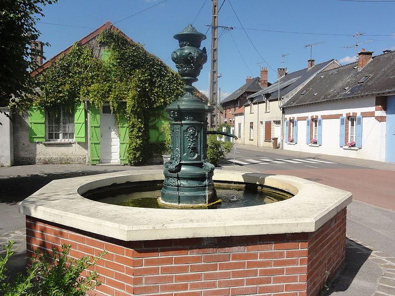 Berrieux (Aisne) fontaine