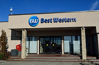 Best Western - Best Western Hotel with new logo.