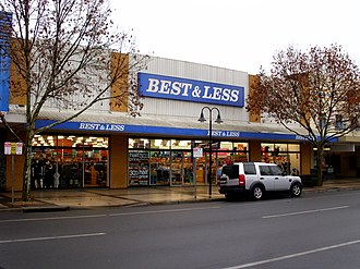 Best & Less - Image: Best and Less store in Wagga Wagga