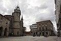 Betanzos - Praza da Constitucion - Igrexa de Santiago - 01.jpg