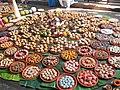 Bhog,decorated sweets and food in Shakta rash 2.jpg