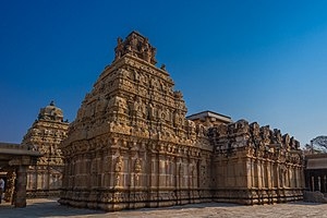 Bhoga Nandeeshwara Temple - Bhoga Nandeeshwara Temple - South Side View