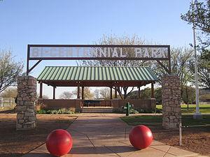 Gail, Texas - Image: Bi Centennial Park, Gail, TX IMG 1794
