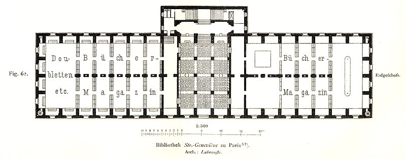 File bibliothek sainte genevi ve ground floor for Planta arquitectonica biblioteca
