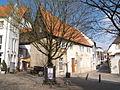 Bielefeld Denkmal Welle 50 Hinterhaus.JPG