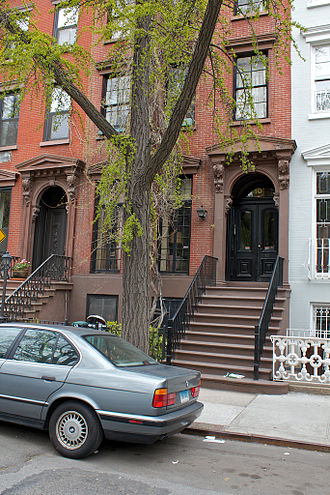 The Cosby Show - The brownstone used in The Cosby Show