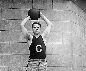 1929–30 Georgetown Hoyas men's basketball team - Bill Dudack, seen as a Georgetown forward in 1920, graduated in 1921 and returned to Georgetown to coach the 1929–30 team.