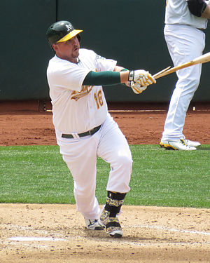 Billy Butler (baseball) - Billy Butler with the Oakland Athletics in 2015
