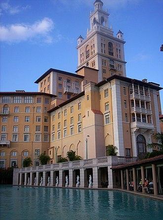 Miami Biltmore Hotel - Image: Biltmorepool