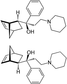 Biperiden Stereoisomers.png