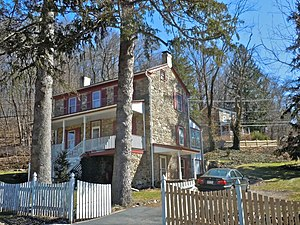 National Register of Historic Places listings in northern Chester County, Pennsylvania