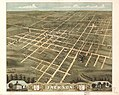 Bird's eye view of the city of Jackson, Madison County, Tennessee 1870. LOC 73694528.jpg