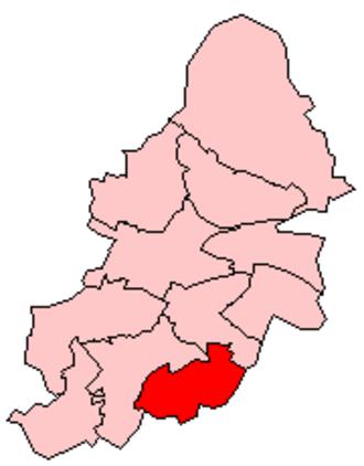 Hall Green - Image: Birmingham Hall Green Constituency
