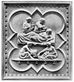 Birth of the Virgin by Andrea Pisano, Bronze relief Wellcome M0013513.jpg