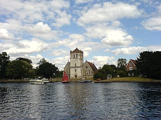 Bisham - Image: Bisham Church