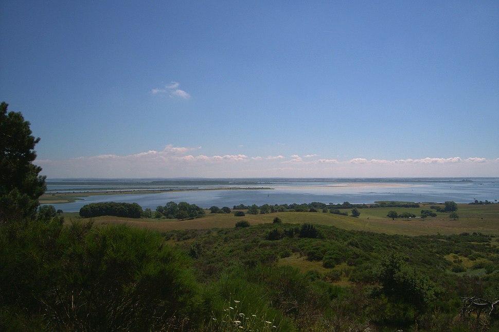 Blick vonm nördlichen Hiddensee nach Rügen 2006 b