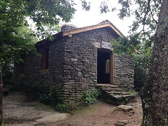 Blood Mountain Wilderness - Image: Blood Mountain CCC Shelter