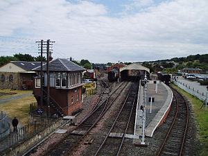 Bo'ness railway station - Image: Bo'ness railway station in 2005
