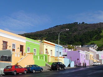 Cape Malays - Bo-Kaap, Cape Town's Malay Quarter.