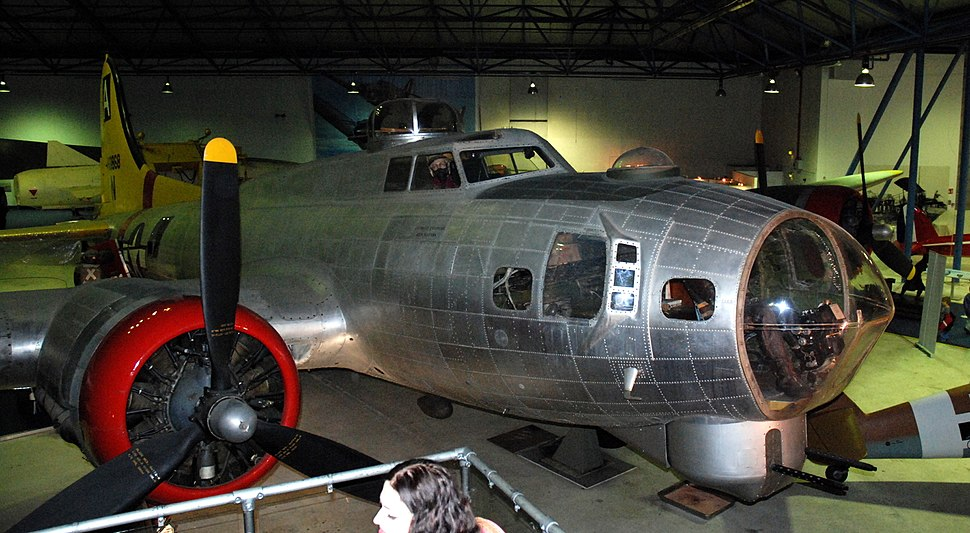 Boeing B-17G Flying Fortress, Royal Air Force Museum, Hendon. (23509305012)