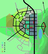 Boliden stadsplan