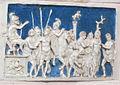 Bolsena, s. cristina, chiesa maggiore, int., ciborio di benedetto buglioni, predella 02.jpg