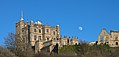 Bolsover castle The Little Castle Moon Moonrise.jpg