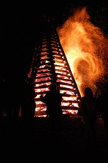 Bonfire Night Annual event dedicated to bonfires, fireworks and celebrations