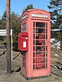 Bonjedward, postbox No. TD8 84, hugging phone box - geograph.org.uk - 595999.jpg