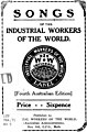 Book cover detail, Songs of the IWW 4th Australian Edition (page 1 crop).jpg