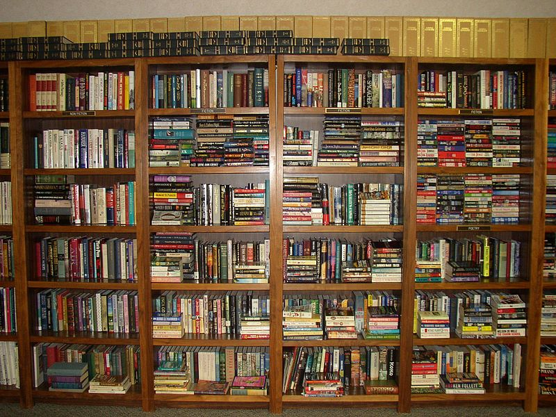 File:Book shelves UWI Library.jpg