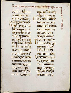 Codex Boreelianus 111 recto