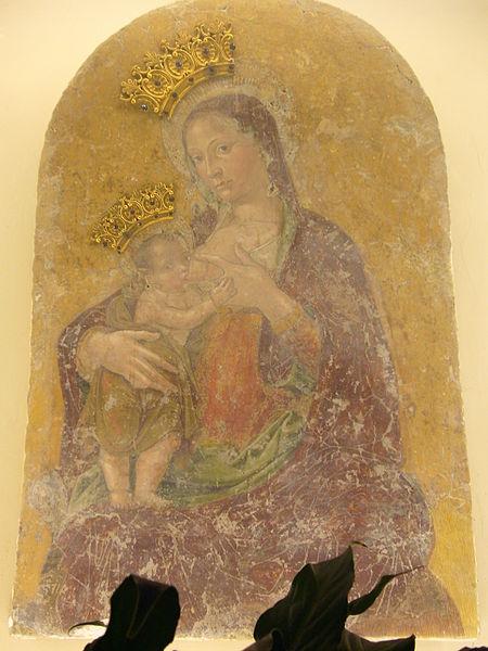 File:Borgo - oratorio dell Annunziata - Madonna del latte (Antoniazzo) 1010915.JPG