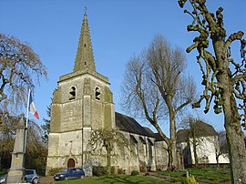The church of Boubers-sur-Canche