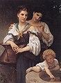 Bouguereau, Le secret, 1876 (5590356206).jpg