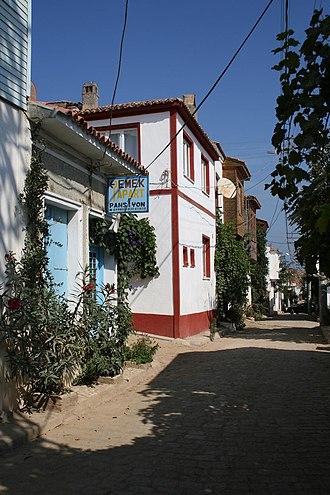 Tenedos - A street.