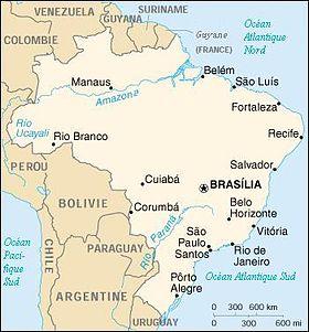 Carte Amerique Latine Avec Fleuves.Geographie Du Bresil Wikipedia