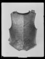 Bröstharnesk, karolinsk typ 1600-talets senare del - Livrustkammaren - 79317.tif