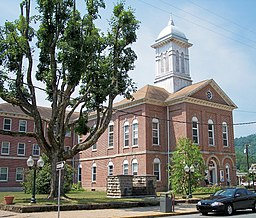 Braxton County Courthouse i Sutton.